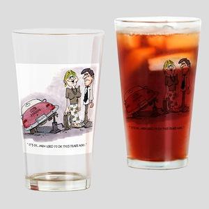 Porsche Babe Gifts Drinking Glass