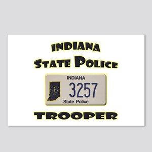 Indiana State Police Postcards (Package of 8)
