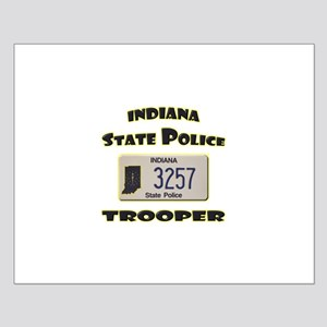Indiana State Police Small Poster