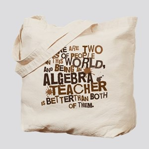 Algebra Teacher Tote Bag