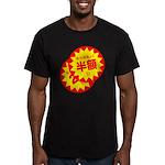 hangaku Men's Fitted T-Shirt (dark)