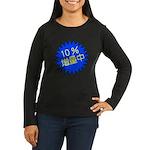 zouryou Women's Long Sleeve Dark T-Shirt