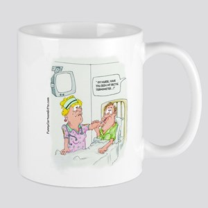 Funny Missing Rectal Thermome Mug