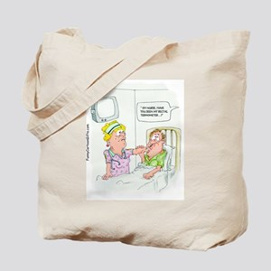 Funny Missing Rectal Thermome Tote Bag
