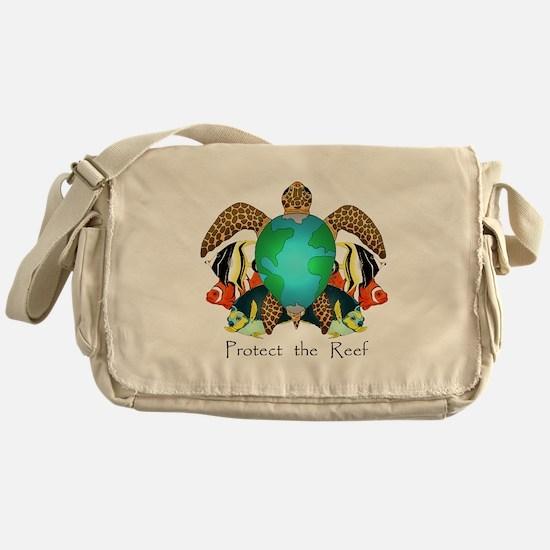Save the Reef Messenger Bag