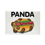 Panda Rectangle Magnet