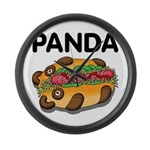 Panda Large Wall Clock