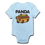 Panda Infant Bodysuit