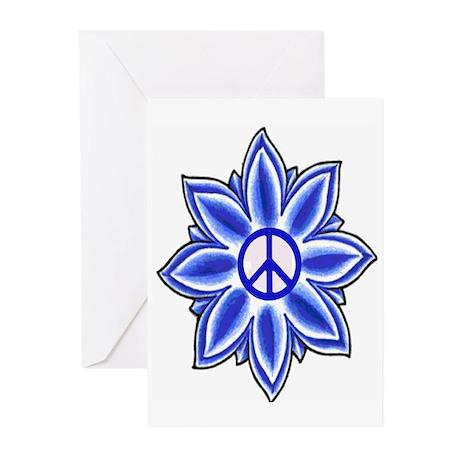 Peace Lotus Greeting Cards (Pk of 10)