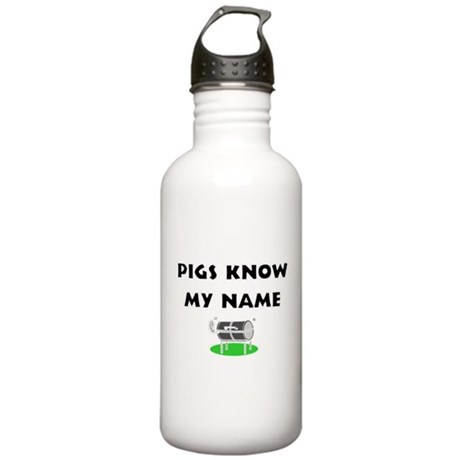 Pigs know my name Stainless Water Bottle 1.0L