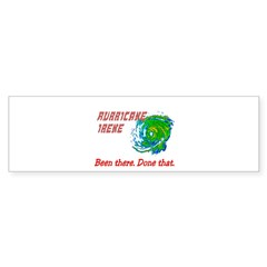Hurricane Irene Been There Sticker (Bumper 10 pk)