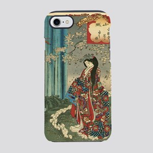 Japanese Classic Geisha Lady - iPhone 7 Tough Case