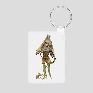 Jenny Haniver Aluminum Photo Keychain