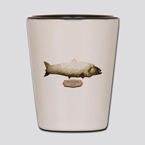 Fur-Bearing Trout Shot Glass