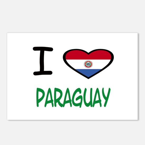 Cute Paraguayan Postcards (Package of 8)