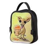 Ice Cream Chihuahua Neoprene Lunch Bag