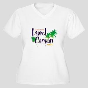 Sweet Home Laurel Canyon Women's Plus Size V-Neck
