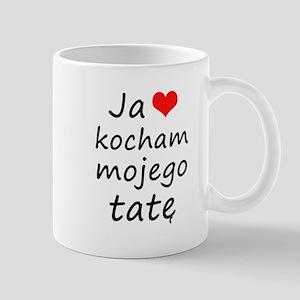 I love MY Dad (Polish) Mug