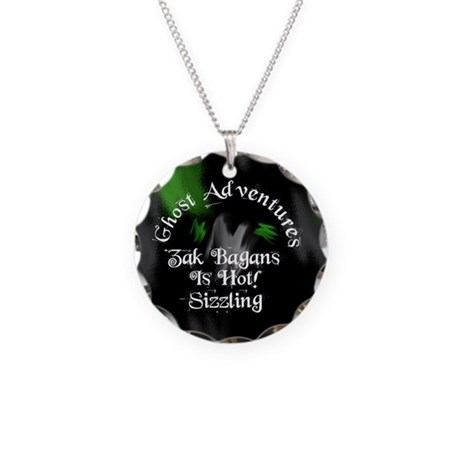 Ghost Adventures Necklace Circle Charm