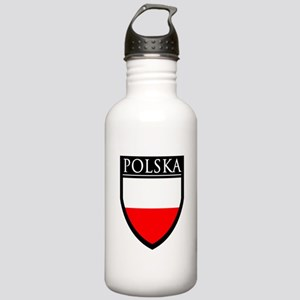 Poland (POLSKA) Patch Stainless Water Bottle 1.0L