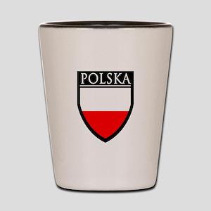 Poland (POLSKA) Patch Shot Glass