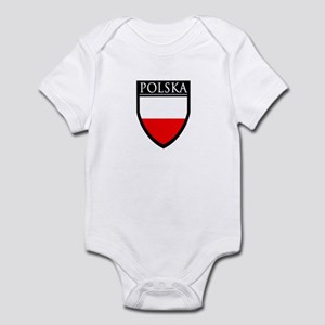 Poland (POLSKA) Patch Infant Bodysuit
