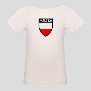Poland (POLSKA) Patch Organic Baby T-Shirt