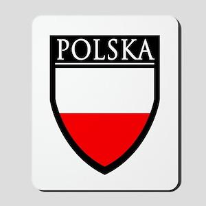 Poland (POLSKA) Patch Mousepad