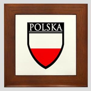 Poland (POLSKA) Patch Framed Tile