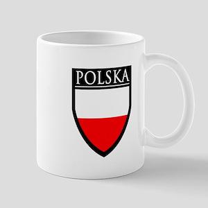 Poland (POLSKA) Patch Mug