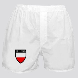 Poland (POLSKA) Patch Boxer Shorts