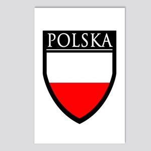 Poland (POLSKA) Patch Postcards (Package of 8)