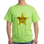 SuperStar Dog Green T-Shirt