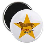 SuperStar Dog Magnet