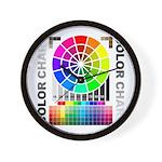 Color chart Wall Clock