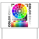 Color chart Yard Sign