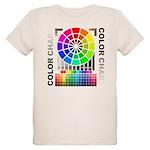 Color chart Organic Kids T-Shirt