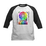 Color chart Kids Baseball Jersey