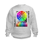 Color chart Kids Sweatshirt
