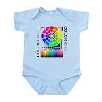Color chart Infant Bodysuit
