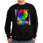 Color chart Sweatshirt (dark)