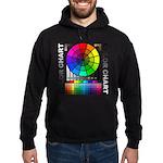 Color chart Hoodie (dark)