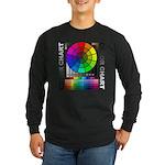 Color chart Long Sleeve Dark T-Shirt