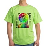 Color chart Green T-Shirt
