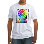 Color chart Fitted T-Shirt
