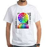 Color chart White T-Shirt