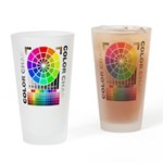 Color chart Drinking Glass