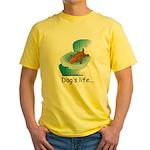 Dog's Life Yellow T-Shirt