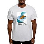 Dog's Life Ash Grey T-Shirt