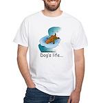 Dog's Life White T-Shirt